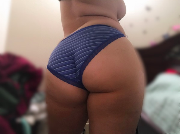 Dirty Kik girl with big butt